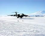 Obrázek - Přistání C17 Globemaster US Air Force