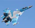 Obrázek - Sukhoi SU 30 MK Flanker při stoupání