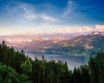 Obrázek - Hory za úsvitu