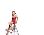 Obrázek - Michelle Pfeiffer a barová židle