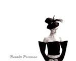 Obrázek - Natalie Portman a černý kloubouk