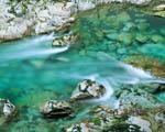 Obrázek - Azurově čistý potok
