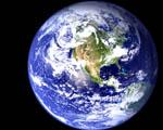 Obrázek - Planeta Země západní polokoule