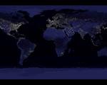 Obrázek - Planeta Země v noci