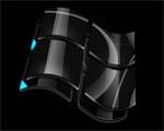 Obrázek - Černé logo Windows
