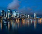 Obrázek - Krásný noční výhled na přístav