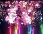 Obrázek - Novoroční ohňostroj plný barev