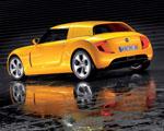 Obrázek - Žlutý Volkswagen Ecoracer