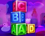 Obrázek - Dětské hrací kostky A B C D