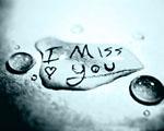 Obrázek - Chybíš mi ve vodní kapce