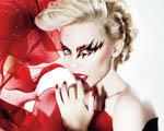 Obrázek - Kylie Minogue v červeném