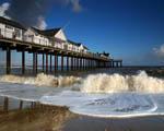 Obrázek - Southwoldské molo na pláži