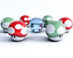 Obrázek - Malé kybernetické houbičky