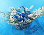 Obrázek - Modré Vánoce
