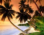 Obrázek - Modrá laguna Mikronésie místo pro svatební cestu