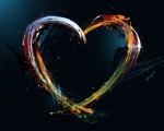 Obrázek - Láska v překrásné abstrakci