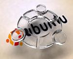 Obrázek - Skleněné logo Ubuntu