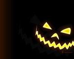 Obrázek - Strašidelná maska z dýně na Halloween