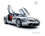 Obrázek - Mercedes Benz SLR Kupé a otevřené výklopné dveře