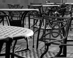 Obrázek - Železné stolky s židlemi