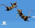 Obrázek - Vačice v pohádkovém příběhu Doba ledová 2
