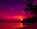 Západ slunce v Thajsku