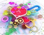 Obrázek - láska ve 3D