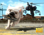 Obrázek - Bolt prchající před helikoptérou