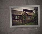 Obrázek - Dřevěná chaloupka na Sibiři