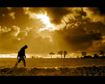 Obrázek - Zlaté mraky u Suffolku