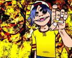 Obrázek - Populární teenagerovská kapela Gorilaz