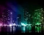 Obrázek - Kreativní osvětlení nočního města