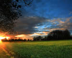 Obrázek - Úžasný západ slunce