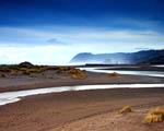 Obrázek - Pláž s oceánem v pozadí