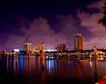 Obrázek - Osvětlený St.Petersburg na Floridě
