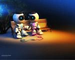 Obrázek - Láska dvou robotů