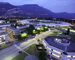 Obrázek - Grenoble ve Francii za brzkého rána