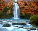 Obrázek - Vodopád Havasu v Arizoně