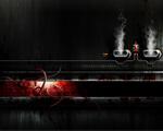 Obrázek - Tmavá továrna na tapetě