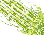 Obrázek - Zelený design pro Váš monitor