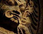 Obrázek - Socha démona v detailu
