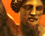 Obrázek - Hlava sochy v detailu