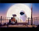 Obrázek - Wall-e a jeho láska při svitu měsíce