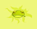 Obrázek - Žabák Ribbit na Vaší ploše