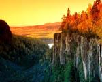 Obrázek - Pestrobarevná krajina Kanady