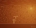 Obrázek - Typografický déšť