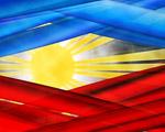 Obrázek - Filipínské barvy