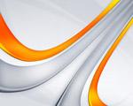 Obrázek - Oranžové pruhy v abstrakci
