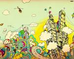 Obrázek - Abstrakcí vykreslený svět