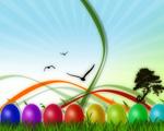 Obrázek - Pestrobarevné velikonoce